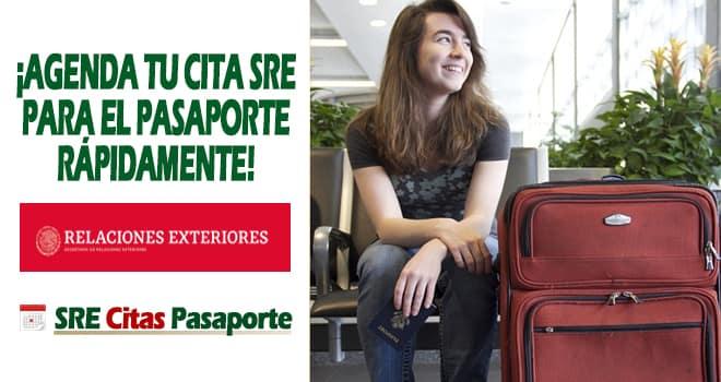 agendar cita sre pasaporte mexico