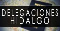 delegaciones sre Hidalgo cita pasaporte