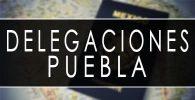 delegaciones sre Puebla cita pasaporte