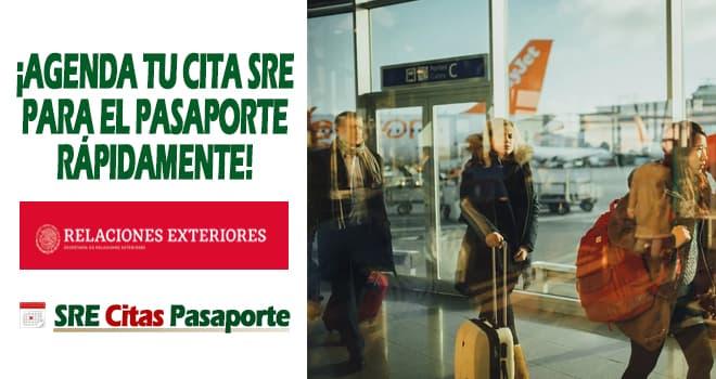 sacar cita pasaporte mexico