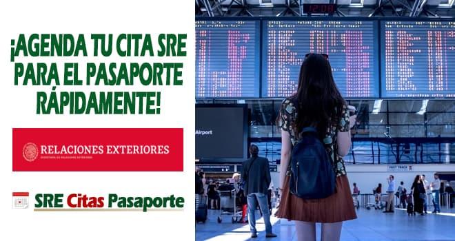 sre cita pasaporte mexico